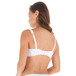 Soutien-gorge balconnet blanc Body Touch-DIM