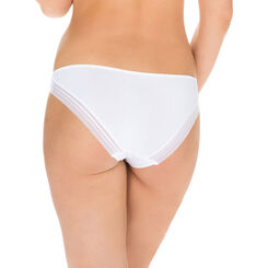 Slip blanc seconde peau Invisi Fit-DIM