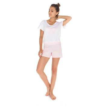 Short de pyjama rose 100% coton Femme-DIM