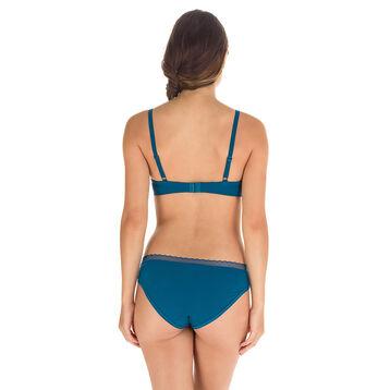 Soutien-gorge push-up bleu corsair Invisi Fit-DIM