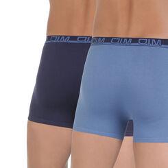 Lot de 2 boxers bleus préformés Gentleman-DIM