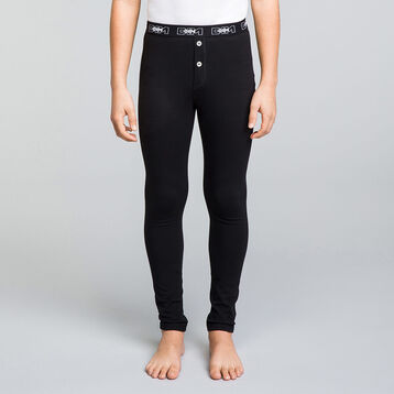 Caleçon long noir coton stretch DIM Boy-DIM
