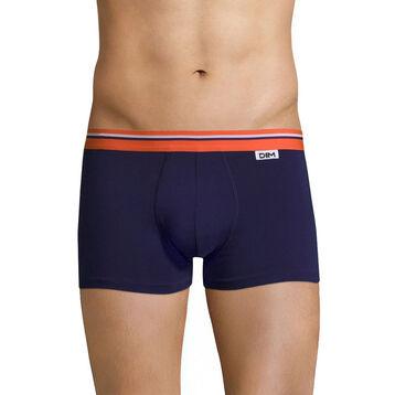 Boxer violet auburn ceinture orange feu DIM Colors-DIM