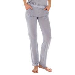 Pantalon de pyjama gris en modal Femme-DIM