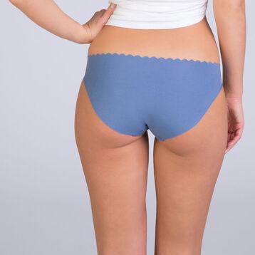 Lot de 2 slips bleu et rose Body Touch Coton-DIM