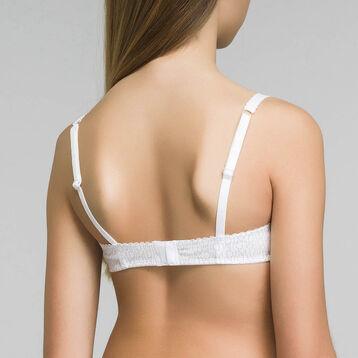Soutien-gorge à armatures blanc DIM Girl-DIM