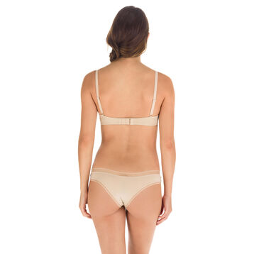 Slip brésilien en microfibre skin nude Invisi Fit-DIM