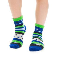 Chaussettes vertes à rayures et étoiles pour Enfant-DIM