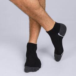 Lot de 3 socquettes noires pour sneakers Homme DIM Sport-DIM