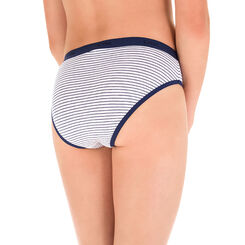 Lot de 3 culottes bleu et imprimé Les Pockets DIM Girl-DIM