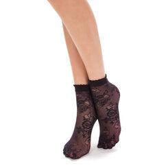 Socquettes noires dentelle Style-DIM