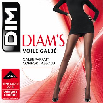 Collant écureuil Diam's Voile Galbé 22D-DIM
