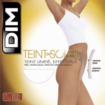 Collant hâlé Teint de Soleil Ventre Plat 17D-DIM