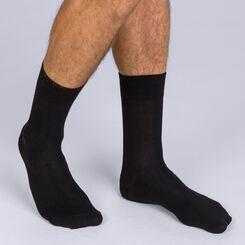 Lot de 2 paires de chaussettes noires X-Temp Homme-DIM