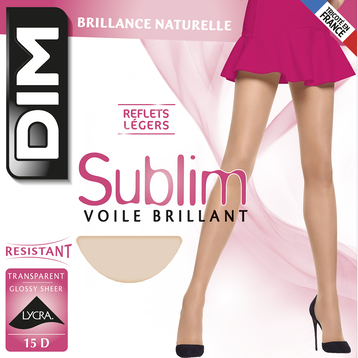 Collant marine Sublim Voile Brillant 15D-DIM