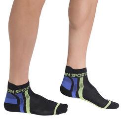 Socquettes noires sport ultra Homme-DIM