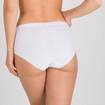 2 Culottes Midi blanches - Coton Stretch-PLAYTEX