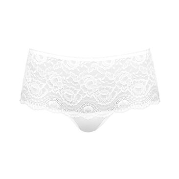 Shorty in White – Flower Elegance-PLAYTEX