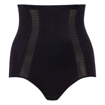 High-Waisted Girdle in Black – Expert In Silhouette-PLAYTEX