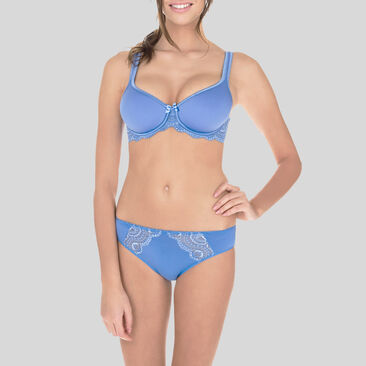 Culotte Mini bleue - Flower Elegance-PLAYTEX