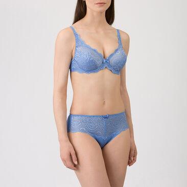 Soutien-gorge emboîtant bleu - Flower Elegance-PLAYTEX