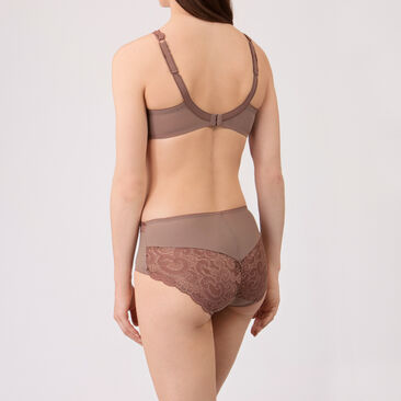 Soutien-gorge balconnet taupe - Invisible Elegance-PLAYTEX