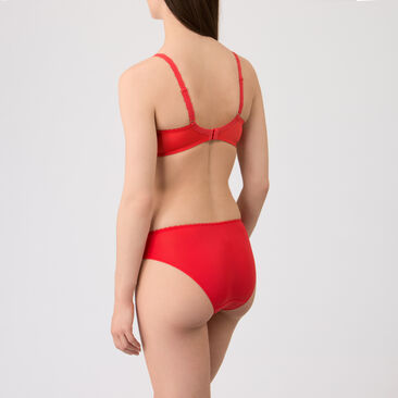 Culotte Mini rouge - Flower Elegance-PLAYTEX