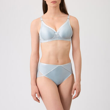 Non-wired Bra in Ice Blue - Ideal Beauty-PLAYTEX