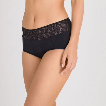 Shorty noir gris - Ideal Beauty Lace-PLAYTEX