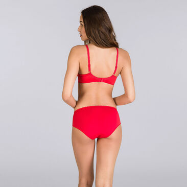 Full Cup Bra in Red – Flower Elegance-PLAYTEX