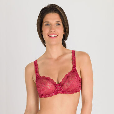 Balcony Bra in Sparkling red - Invisible Elegance-PLAYTEX