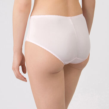 Midi Brief in Pale Pink –  Classic Lace Support-PLAYTEX