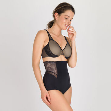 Gaine serre-taille noire  – Expert in Silhouette Feminine-PLAYTEX
