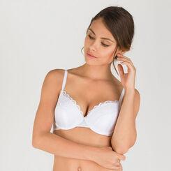 Soutien-gorge T-shirt bra blanc - Modern Chic-WONDERBRA