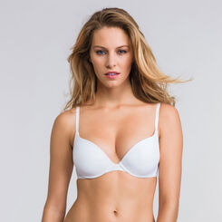 Soutien-gorge push-up T-shirt bra blanc –Ultimate Silhouette-WONDERBRA
