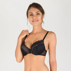 Black T-shirt bra - Modern Chic-WONDERBRA