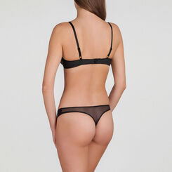 Black Natural Push-up Bra - Minimal Chic-WONDERBRA