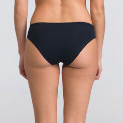 Tanga basique noir - WONDERBRA - New Basic Bottoms