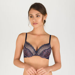 Grey print T-shirt bra - Modern Chic-WONDERBRA