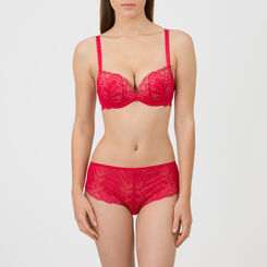 Red Full Effect Push-up Bra – Refined Glamour-WONDERBRA