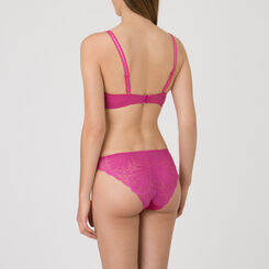 Fuchsia Triangle Push-up Bra - Refined Glamour-WONDERBRA