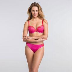 Pink lace tanga - Refined Glamour-WONDERBRA