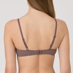 Mocha Natural Push-up Bra - Minimal Chic-WONDERBRA