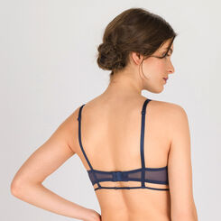 Dark blue balconette bra - Luxe Collection-WONDERBRA