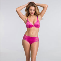 Pink push-up triangle bra - Modern Chic-WONDERBRA