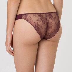 Purple Brazilian brief – Luxe Collection-WONDERBRA