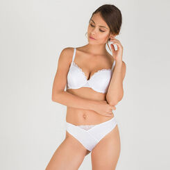 White lace brief - Modern Chic-WONDERBRA