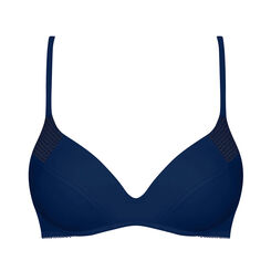 Soutien-gorge Pushup sans armatures bleu-Ultimate Silhouette-WONDERBRA