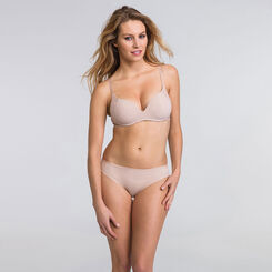 Tanga basique coloris peau - WONDERBRA - New Basic Bottoms