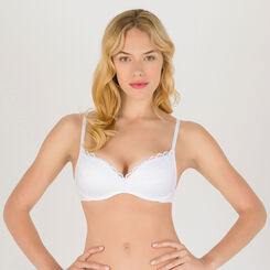 White non-wired T-shirt bra - Modern Chic-WONDERBRA